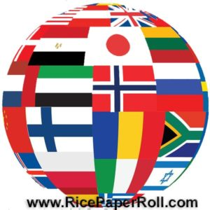 Rice paper roll maker sets shipped worldwide